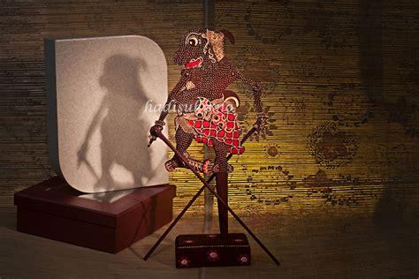 Miniatur Wayang Kulit Punokawan Ukuran S Bagong Semar Gareng Petruk wayang klitik gareng batik
