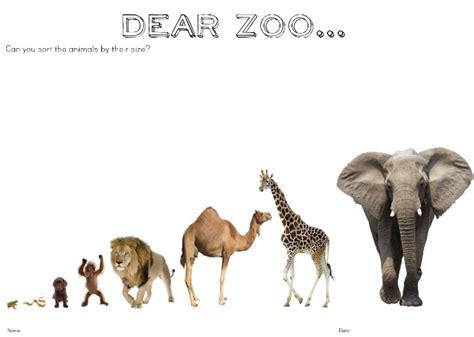 dear zoo printable animals dear zoo play ideas and printables for preschool you