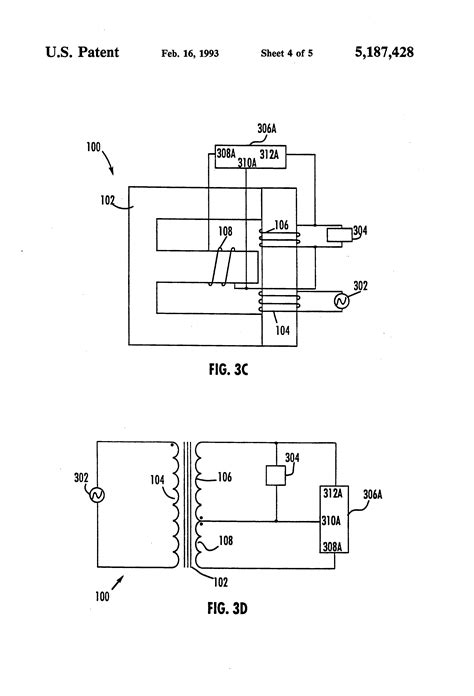 transformer shunt impedance patent us5187428 shunt coil controlled transformer patents