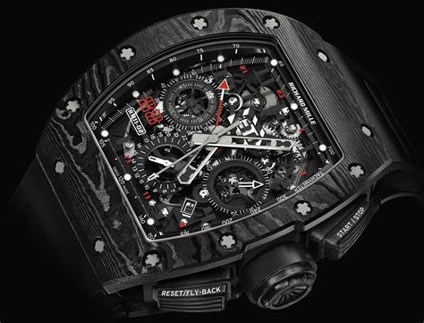 Ntpt Carbon Limited Edition Movement Custom Modified Swiss 7750 F 1 this new richard mille rm 11 02 is a limited edition