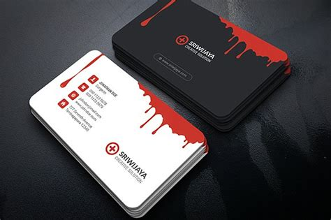 Best Design Resumes by Blood Creative Business Card Business Card Templates