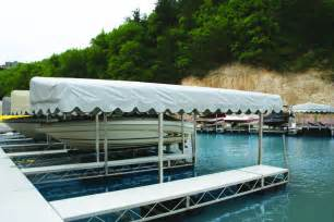Boat Canopies by Rush Co Marine Boat Lift Canopy Cover For Floe 28 X 120