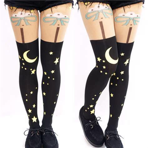 7 Funky Socks And Tights by Tights 183 Kawaii Harajuku Fashion 183