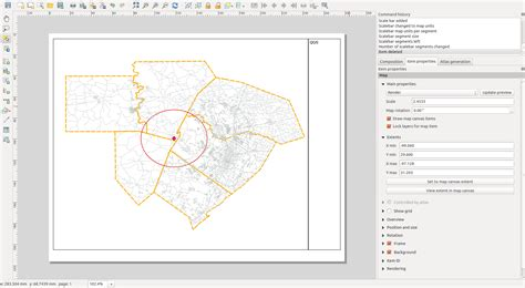 qgis tutorial scale the scale in qgis is not setting to feet geographic