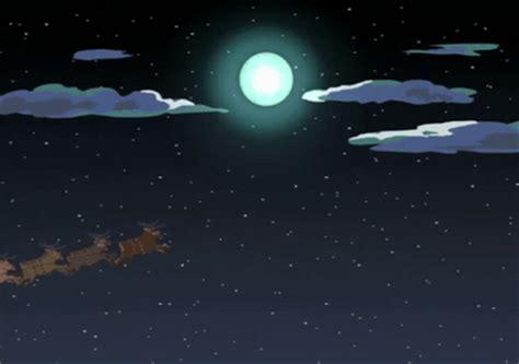 moon santa reindeer gif  gifer  samuk
