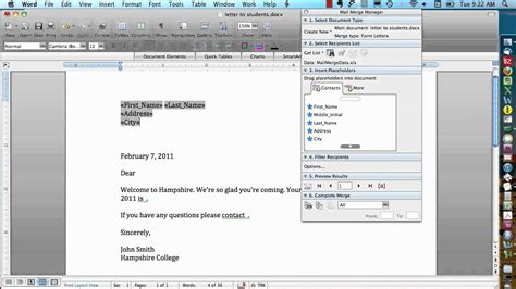 printing address labels from excel on mac mail merge in excel 2007 step by step mail merge for