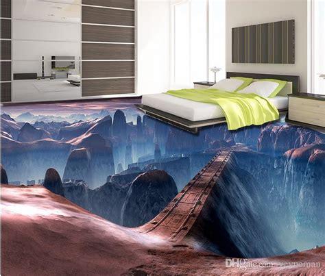 3d Floor Murals Custom Wallpaper For Walls 3 D Game Scene