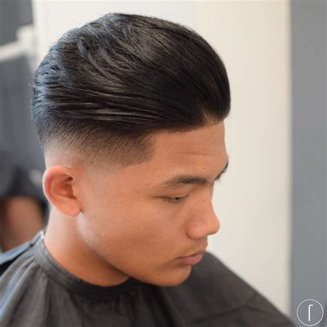 combed fade forward medium length hairstyles for men 2017 men s hairstyles