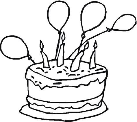 free coloring page of birthday cake free coloring pages of happy birthday john
