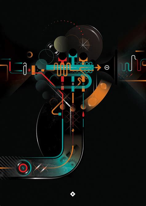design graphics music illustrations by leandro castelao