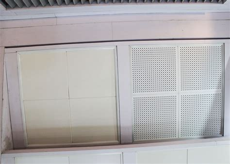 Painted And Reflective Finishes Clip In Ceiling Tiles With Sound Absorbing Ceiling Tiles