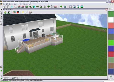 designing  perfect deck    house