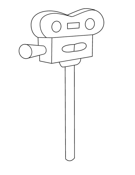 manketti tree coloring page free coloring pages of film camera