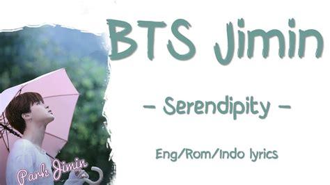 bts serendipity lyrics bts jimin serendipity lyrics indosub youtube
