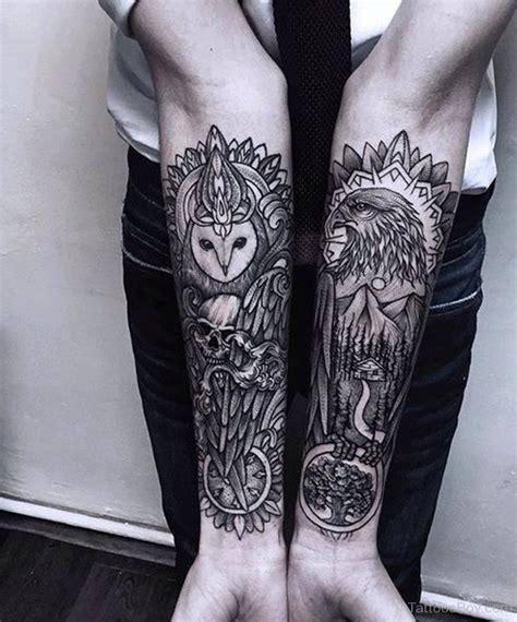 owl arm tattoos designs pictures a category wise