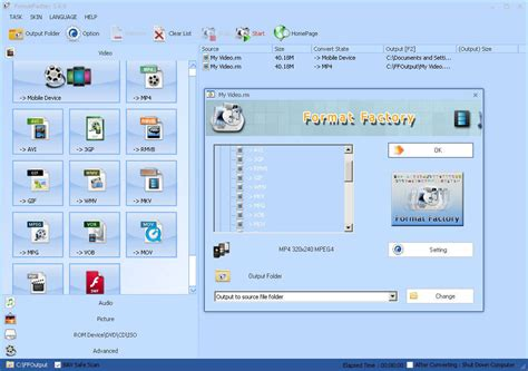 format factory converter setup free download format factory setup 2 30 free download for windows xp