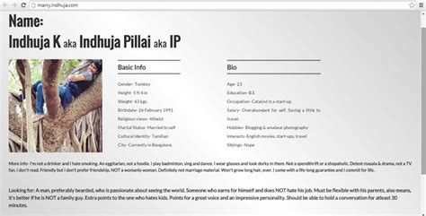 s most awesome matrimonial cv and it s going viral