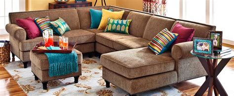 pier one living room carmen sectional sofas pier 1 imports comfy den