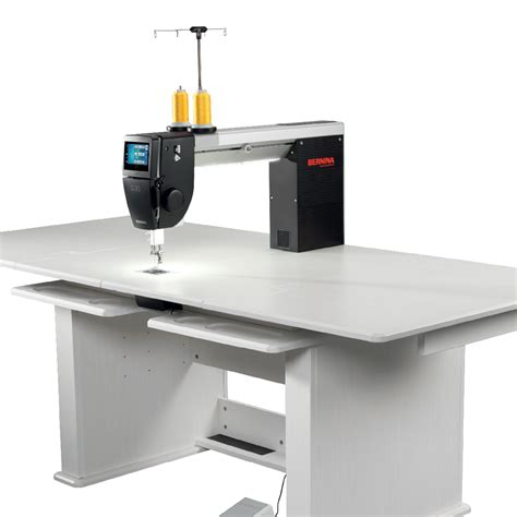 bernina q20 longarm quilting machine with table