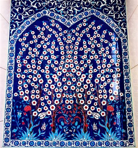 which of the following elements defined ottoman art photo essay blue is for iznik ceramic tiles and artwork