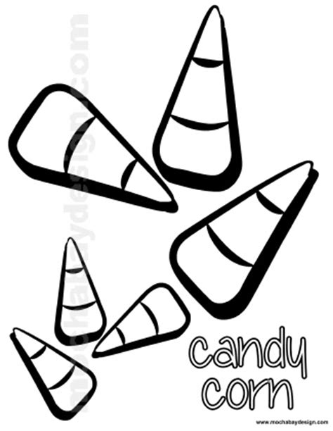 candy corn coloring page coloring coloring pages