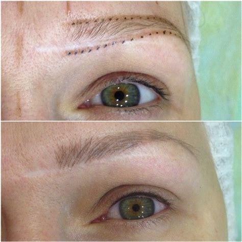 blonde tattooed eyebrows microblading platinum blonde eyebrows google search
