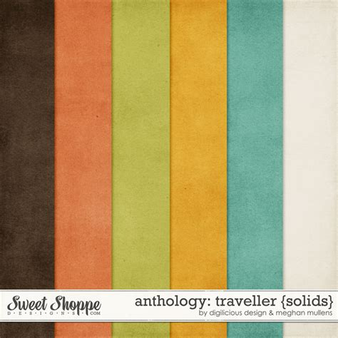 Traveller Anthology sweet shoppe designs your memories sweeter