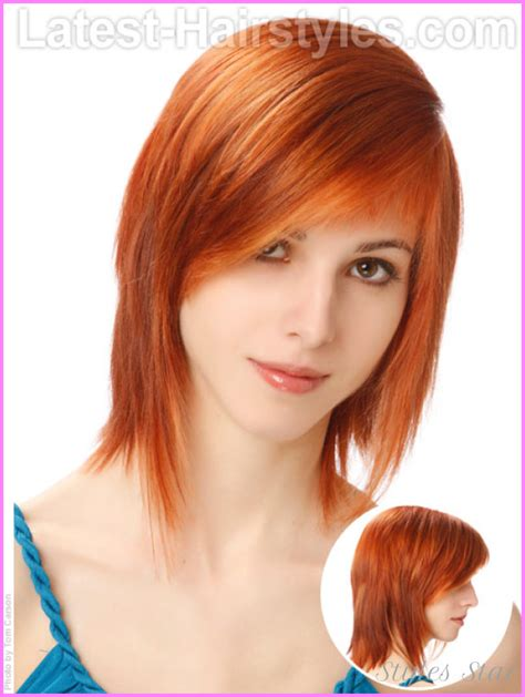 shaggy hair styles with bangs with medium hair 40 haircuts for teen girls with bangs and layers stylesstar