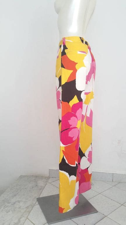 Jmp Dress Guccie Limited Edition 1990s gucci by tom ford limited edition multicolour trousers for sale at 1stdibs