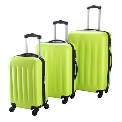 Trolly Ransel Samsonite High Grade Quality Small new 3 pcs luggage travel set bag abs trolley suitcase 4 color 2048 ebay