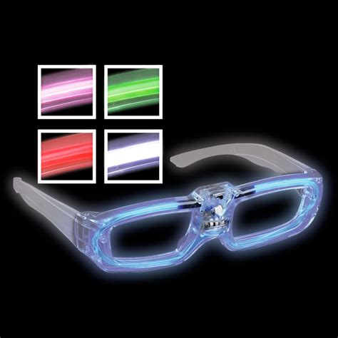 light up glasses bulk glow in the dark new year s eve party supplies