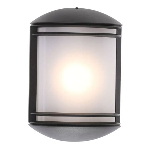 Outdoor Led Wall Lights Springdale Lighting Rainier Rubbed Bronze Outdoor Integrated Led Wall Mount Sconce