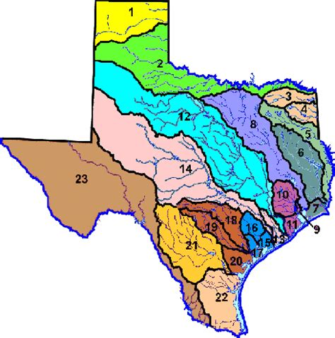 texas watershed map hydrography data and maps tceq www tceq texas gov