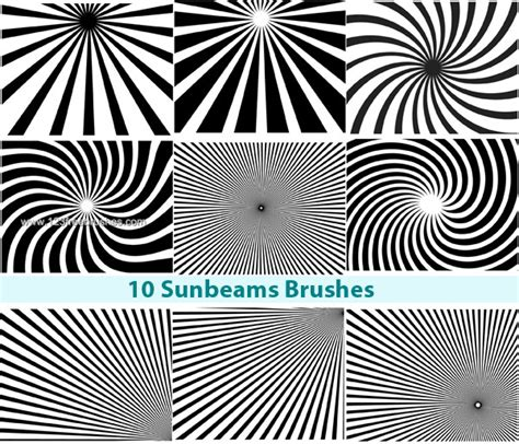 pattern brushes for photoshop cs3 free download free photoshop sunbeam brushes 123freebrushes