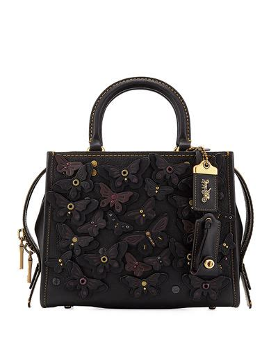 Pre Order Coach Swagger 27 Butterfly Carryall Asli Ori Authentic coach 1941 at neiman