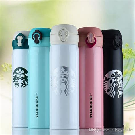 New Botol Minum Termos Insulated Mug 500ml Thermos 2 starbucks thermos cup vacuum flasks thermos stainless