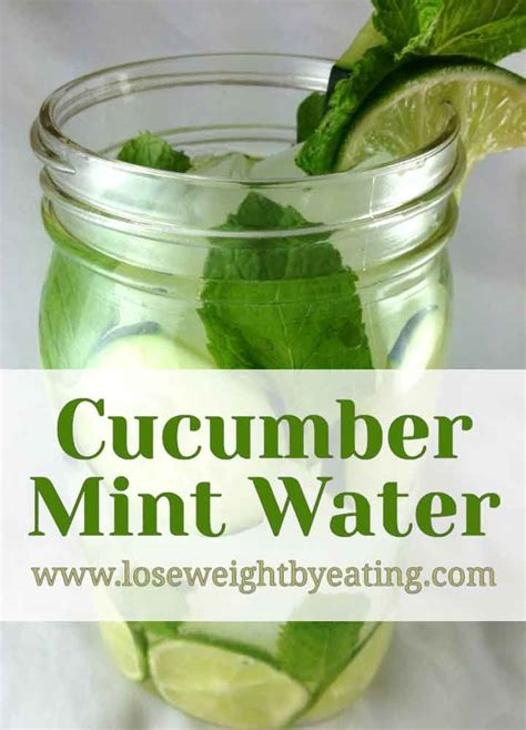 Cucumber Lime Mint Water Detox by Detox Lime Cucumber Mint Water Lose Weight By