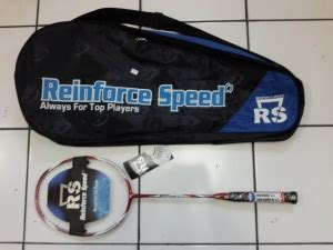 Raket Rs Speed Blue kinerja pay raket badminton reinforce speed rs metric