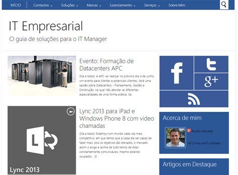 blog empresarial a minha casa digital novo blog it empresarial