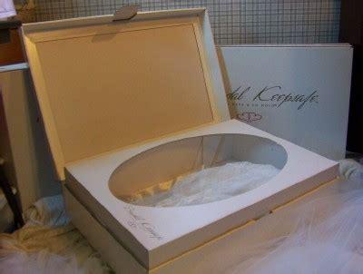 A Wedding Dress Preservation Kit for Bridal Gown Storage