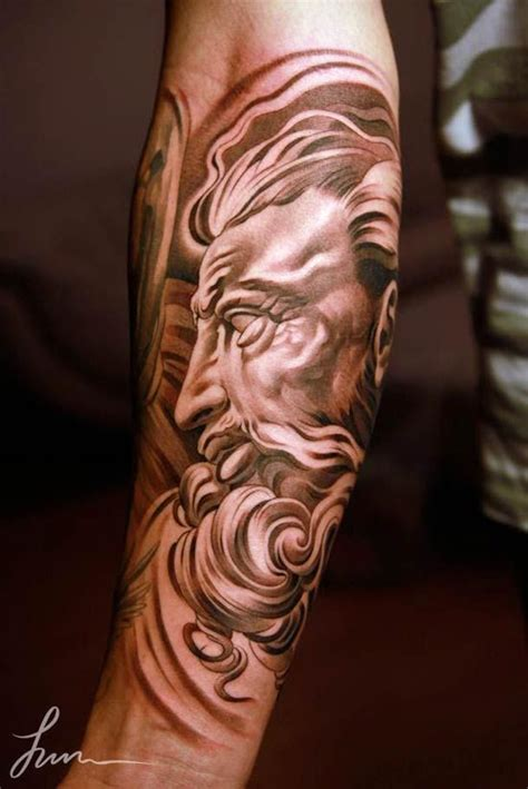 renaissance tattoo 30 beautiful tattoos by jun cha between ancient greece