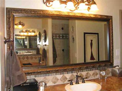 bathroom mirror with frame bathroom mirror frame kit decor ideasdecor ideas