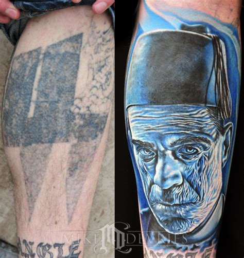 mummy tattoo mike devries tattoos coverup mummy
