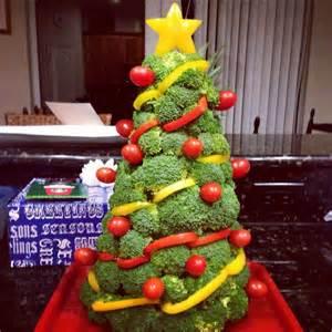 broccoli christmas tree holiday celebrate pinterest