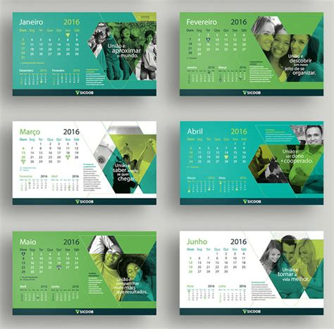 calendar design sles 2016 25 best new year 2016 wall desk calendar designs for