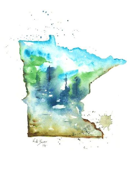 watercolor tattoos minnesota best 20 minnesota ideas on