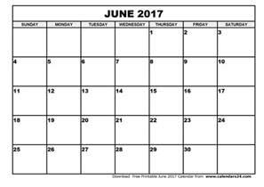 Calendar 2017 June July June 2017 Calendar July 2017 Calendar