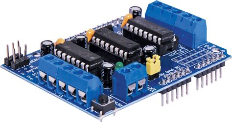 Arduino Motor Driver Shield L293d H Bridge Motor Dc Stepper Driver funduino l293d motor shield for arduino global pc