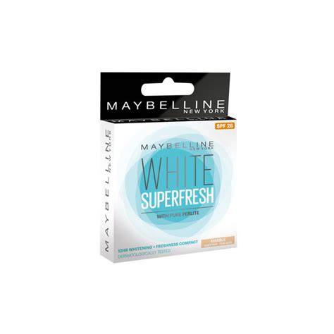 Maybelline New York White Fresh maybelline new york white fresh compact marble 8 g