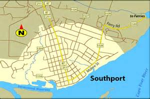southport nc area map town map topo map nautical chart